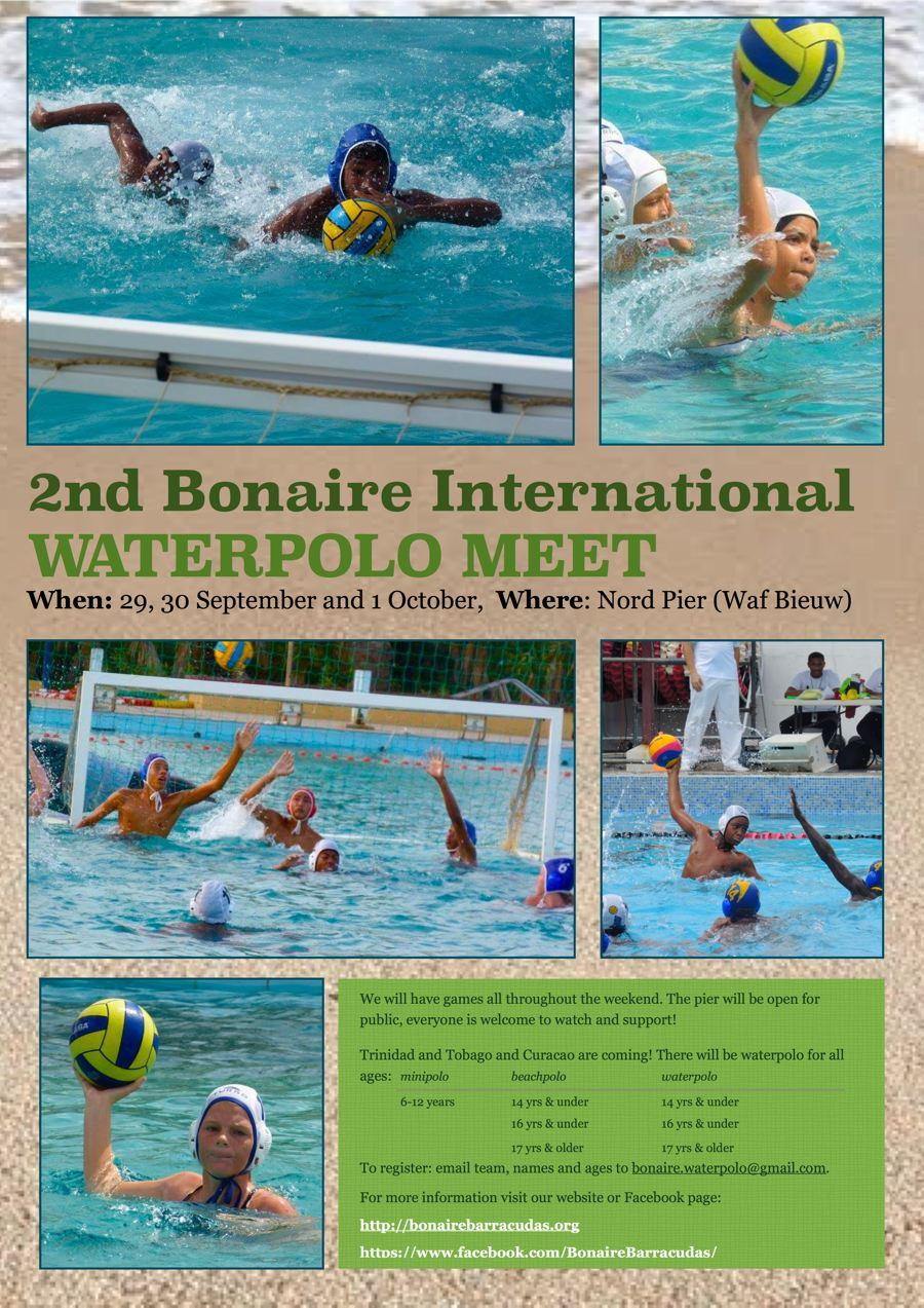 Bonaire International Waterpolo Meet 2017